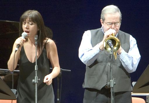 Photo of Kenny Wheeler and Diana Torto