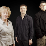 Norma Winstone, Glauco Vernier and Klaus Gesing.