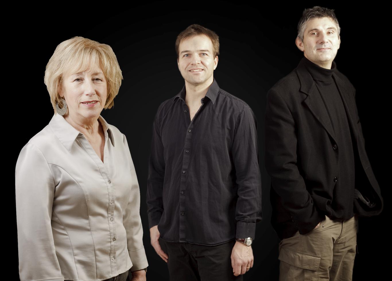 Norma Winstone, Glauco Vernier and Klaus Gesing.